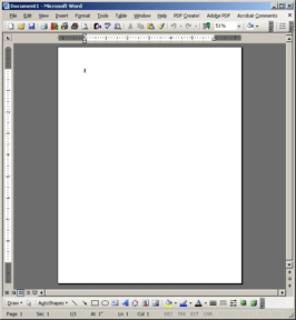 Business Letter Blank Page