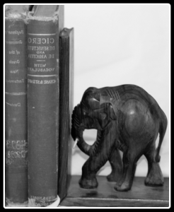 A good bookend reflects the beginning....