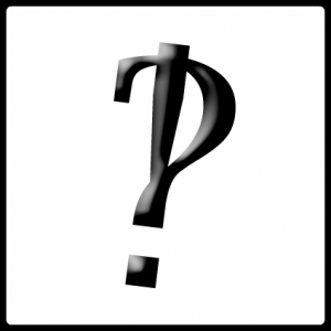 Behold, the mighty interrobang!