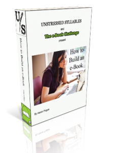 How to Build an e-Book (cover art)