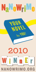 NaNoWriMo Winner's Badge